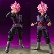 (RESERVA 10% DO VALOR) S.H Figuarts Son Goku Black Super Saiyan Rose Dragon Ball