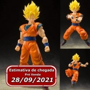 (RESERVA 10% DO VALOR) S.H Figuarts Son Goku Super Sayan Full Power Dragon Ball: Z