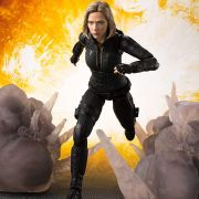 S.H.Figuarts Black widow  & Effect Avengers Infinity War