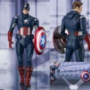 S.H.Figuarts Captain America Endgame Suit Cap VS