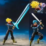 S.H.FIGUARTS DRAGON BALL FUTURE TRUNKS DO FUTURO