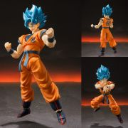 S.H.FIGUARTS DRAGON BALL SUPER GOKU GOD BLUE SSJ 2.0