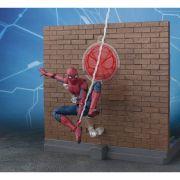 S.H FIGUARTS SPIDER MAN HOMECOMING TAMASHI OPTION ACT WALL