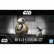Star Wars BB-8 E D-O DIORAMA SET New Item D 1/12 MODEL KIT