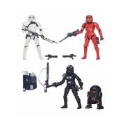 STAR WARS BLACK SERIES EXCLUSIVE PACK SERGENT, STORM, PILOT, R2-Q5