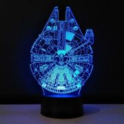 STAR WARS - Luminaria Millennium Falcon