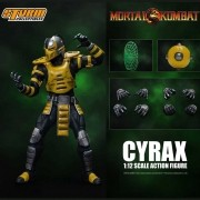 Storm Collectibles Cyrax Mortal Kombat  1/12 Figure