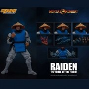 Storm Collectibles Raiden Mortal Kombat 1/12 Figure