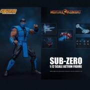 Storm Collectibles Sub Zero Mortal Kombat 3 Action Figure