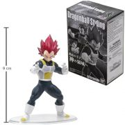 STYLING  DRAGON BALL SUPER SAIYAN GOD VEGETA / 9 cm