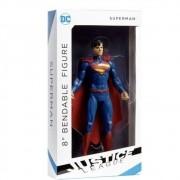 SUPERMAN 8 BENDABLE JUSTICE LEAGUE