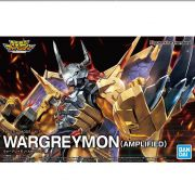 Wargreymon Amplified Digimon Bandai Figure Rise Model Kit
