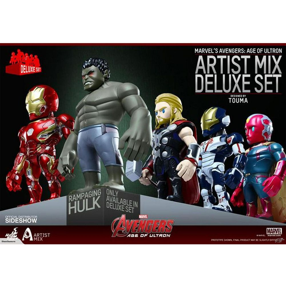 Avengers SERIES 2 Collectible Set by Hot Toys
