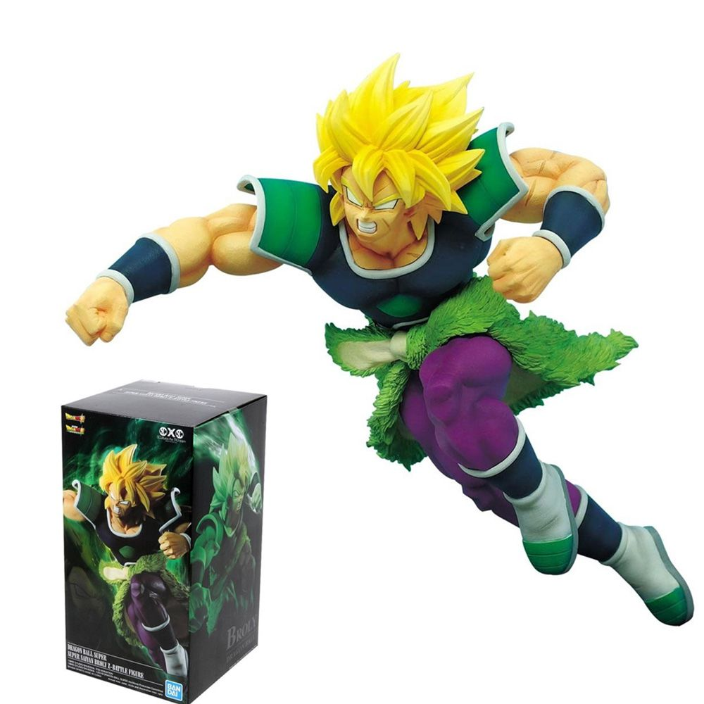 BANDAI BANPRESTO DRAGON BALL SUPER BROLY SSJ BATTLE FIGURE