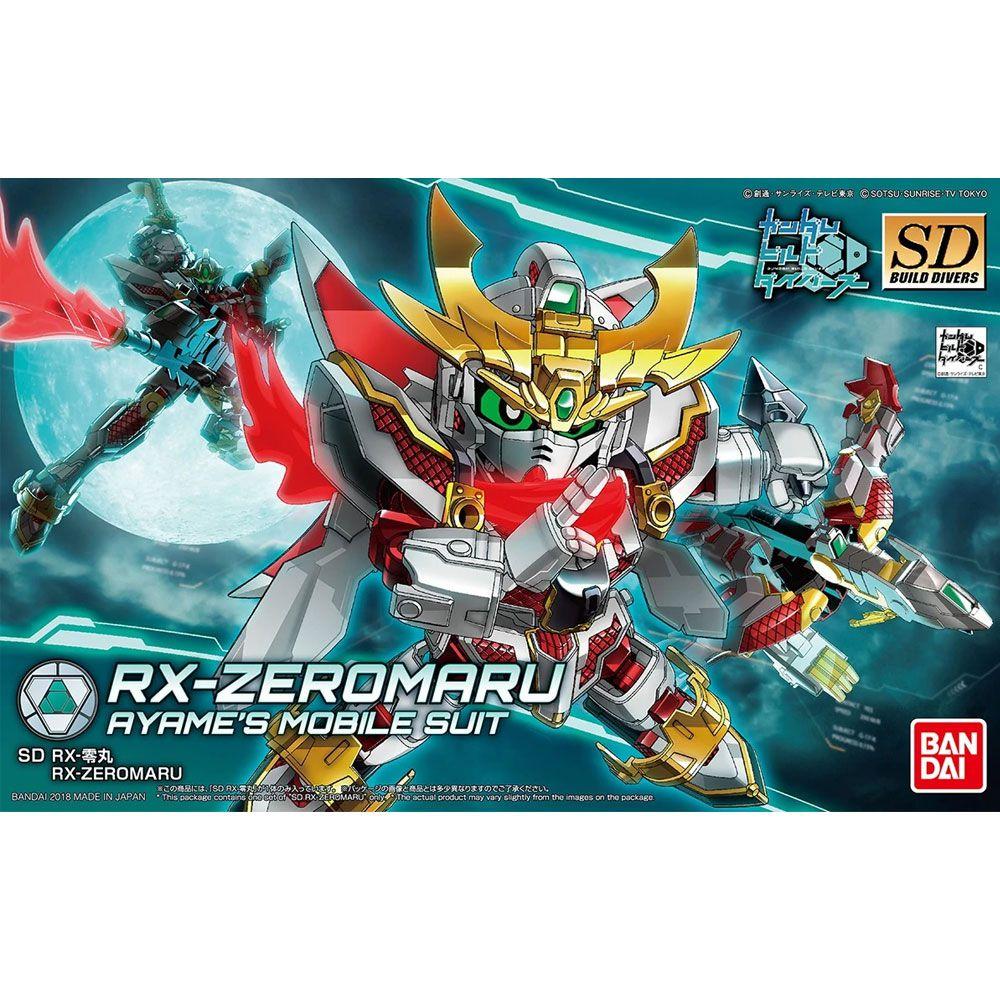 Bandai Gundam Rx-Zeromaru SD Build Divers