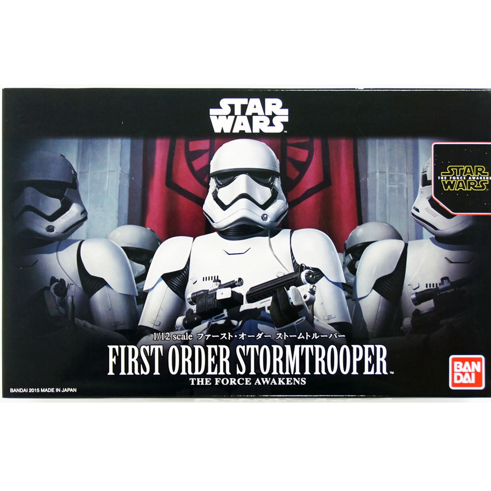 BANDAI STAR WARS FIRST ORDER STORMTROOPER MODEL KIT 1/12