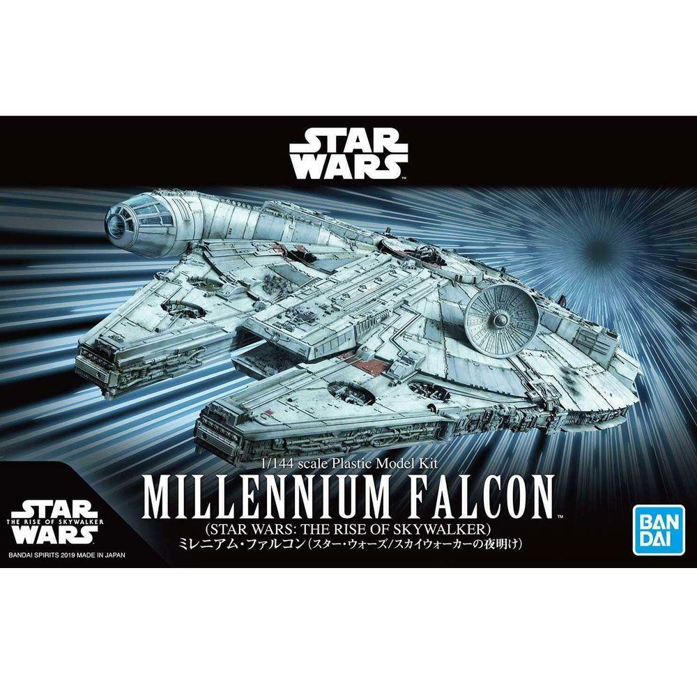Bandai Star Wars Millennium Falcon Rise of Skywalker 1/144