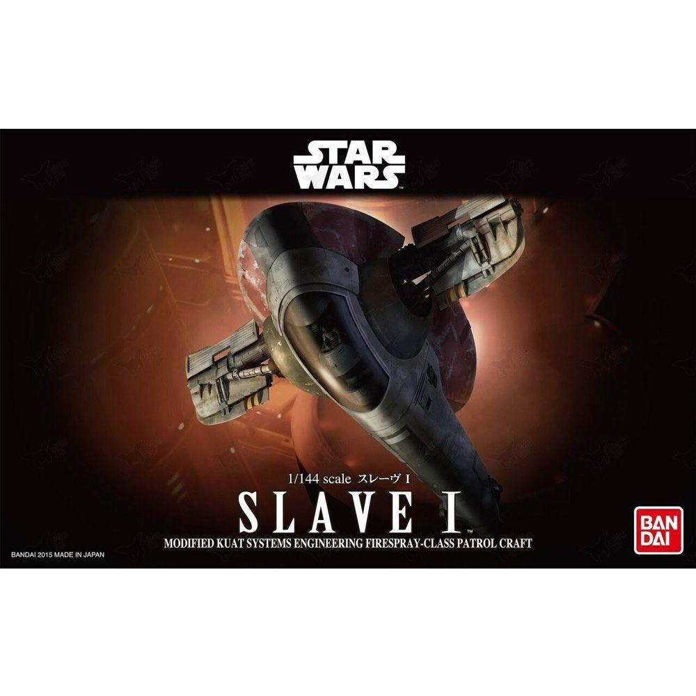 BANDAI STAR WARS SLAVE I MODEL KIT 1/144