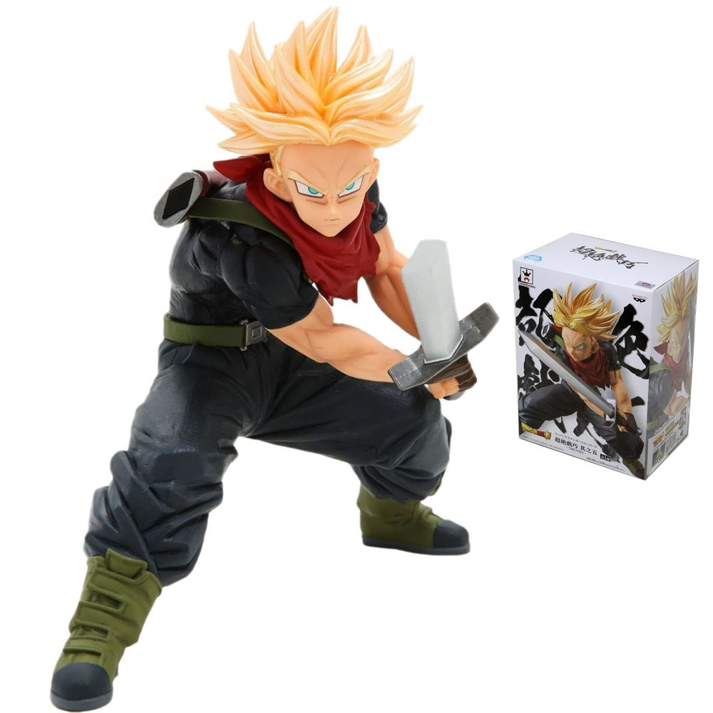 BANPRESTO DRAGON BALL SUPER HEROES TRANSCENDENCE TRUNKS SSJ