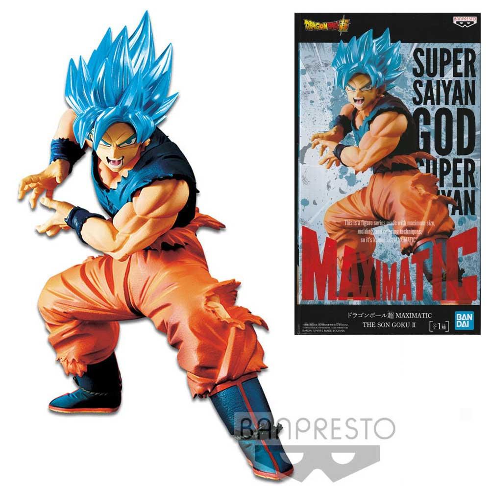 Banpresto Goku Super Saiyan God Maximatic