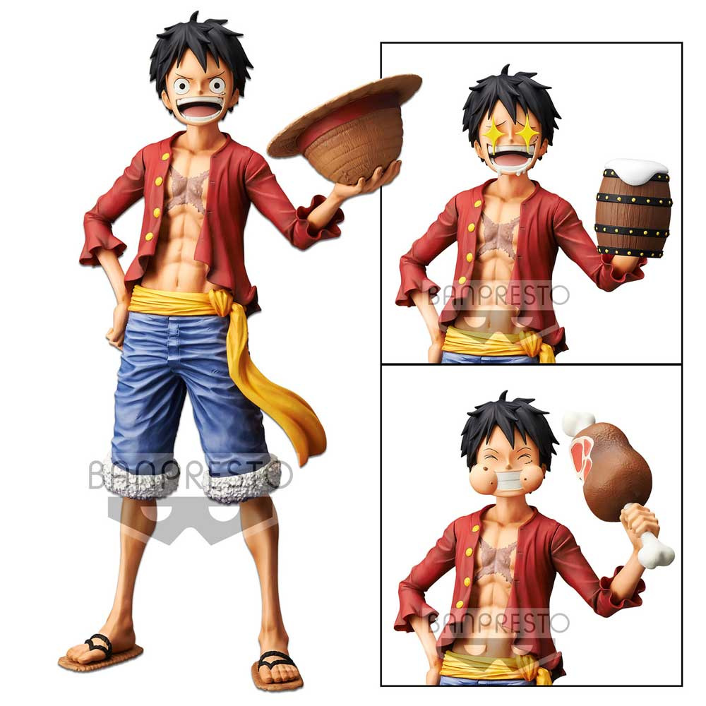 Banpresto Luffy One Piece Grandista Nero