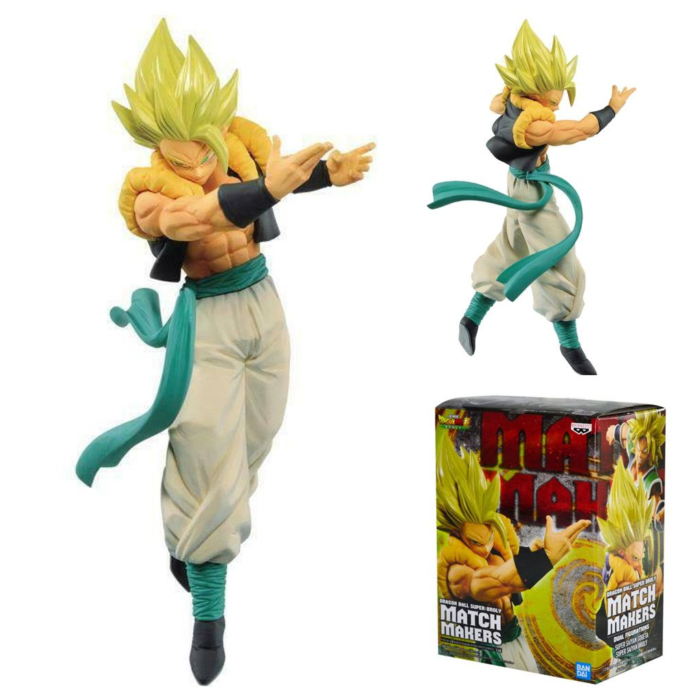 BANPRESTO SUPER MATCH MAKERS GOGETA SSJ DRAGON BALL