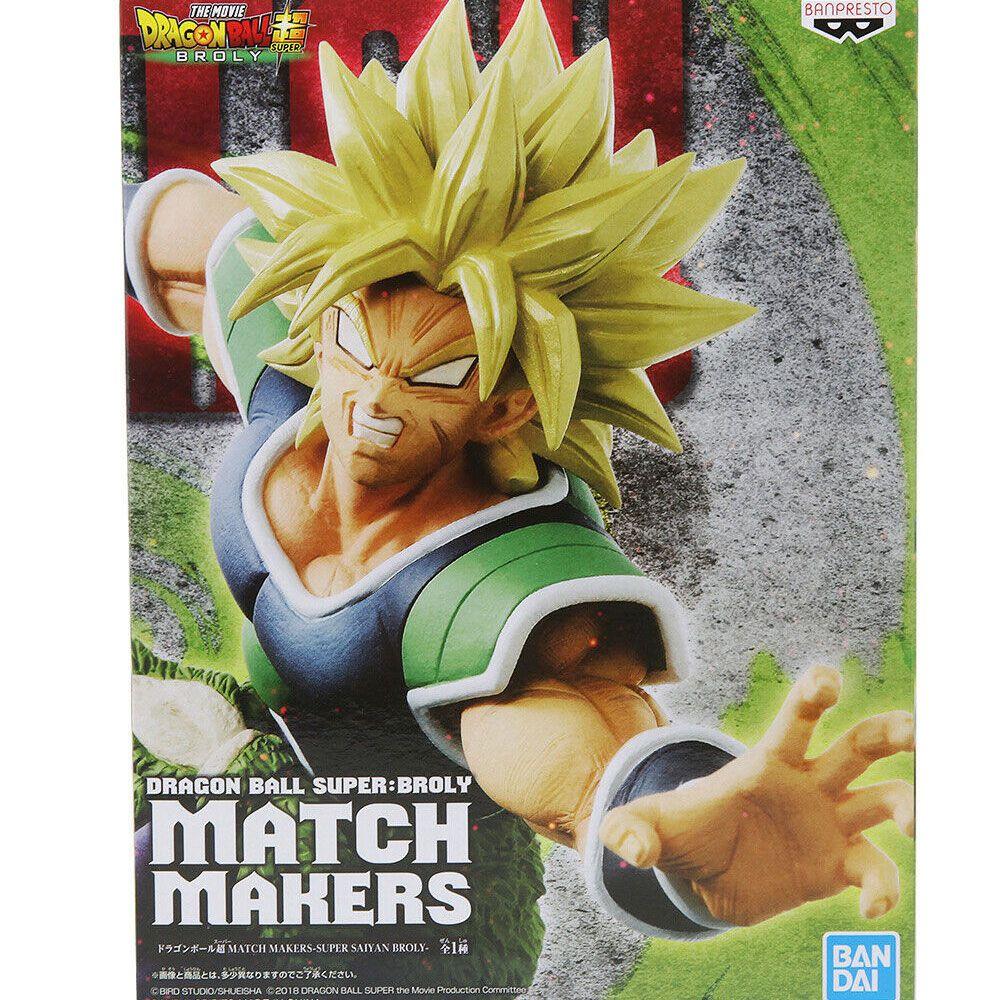 BANPRESTO UPER MATCH MAKERS SUPER BROLY SSJ DRAGON BALL S