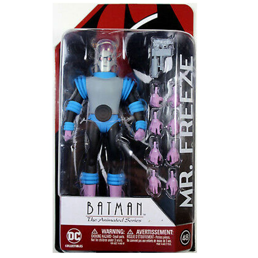 BATMAN THE ANIMATED SERIES MR. FREEZE 48 ACTION FIGURE