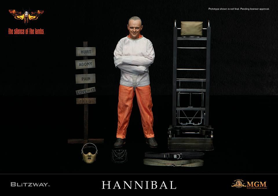 Blitzway Hannibal Lecter Straitjacket Ver. Prision  1/6 Figure