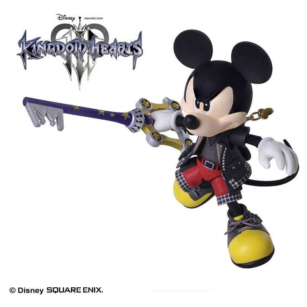 BRING ARTS Kingdom Hearts III King Mickey action figure