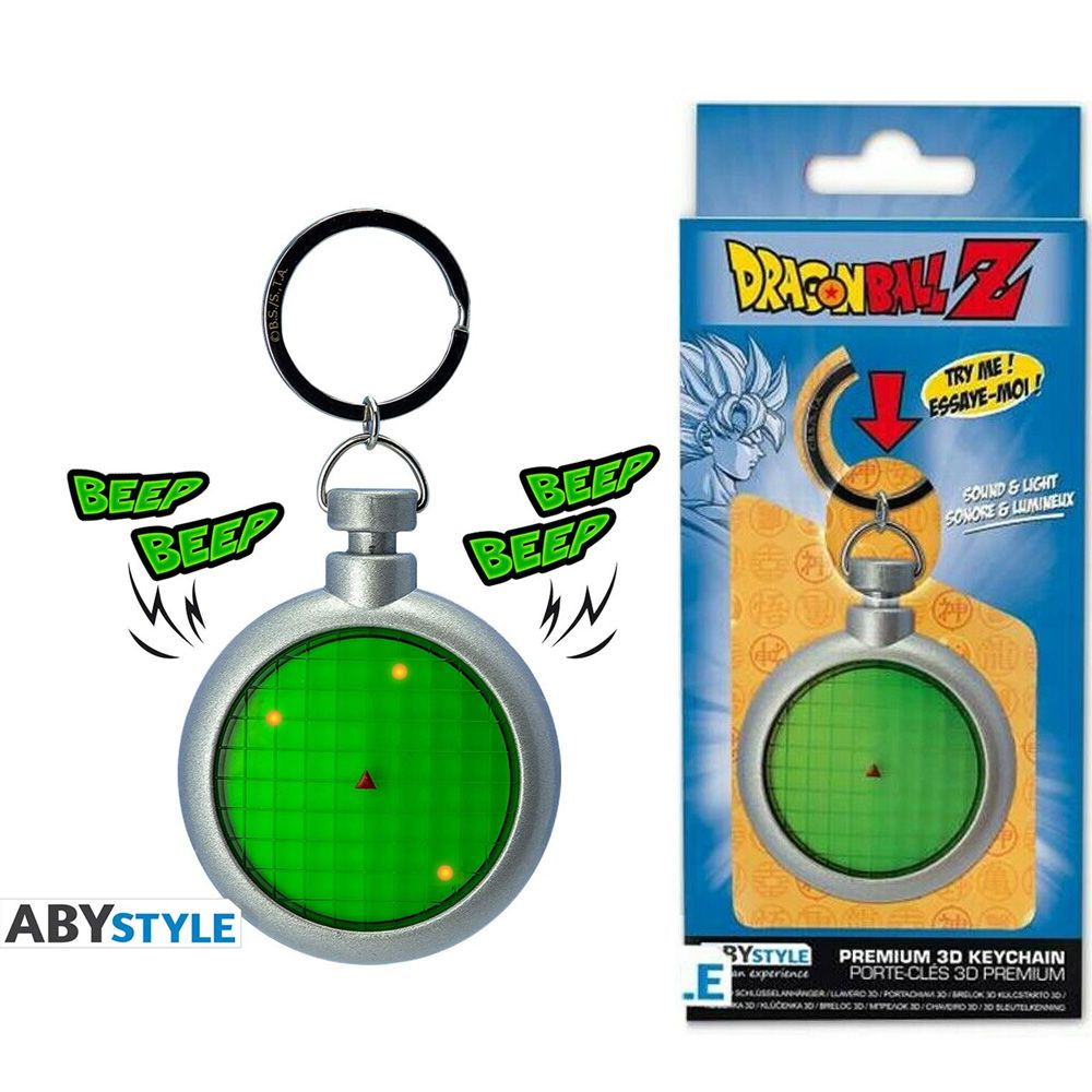 Chaveiro Dragon Ball Z Radar do Dragão ABYstyle 3D KEYCHAIN
