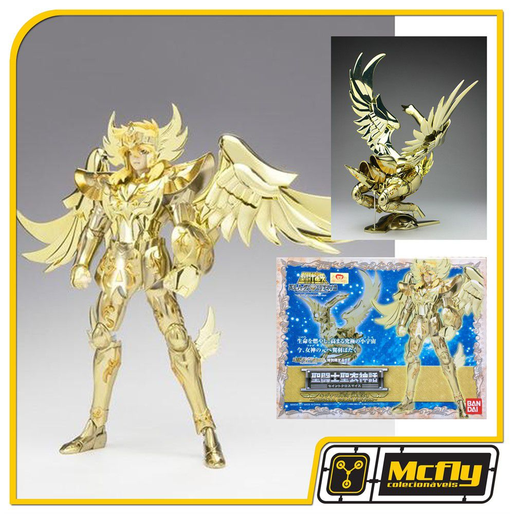 CLOTH MYTH HYOGA DE CISNE GOD V4 OCE SAINT SEIYA