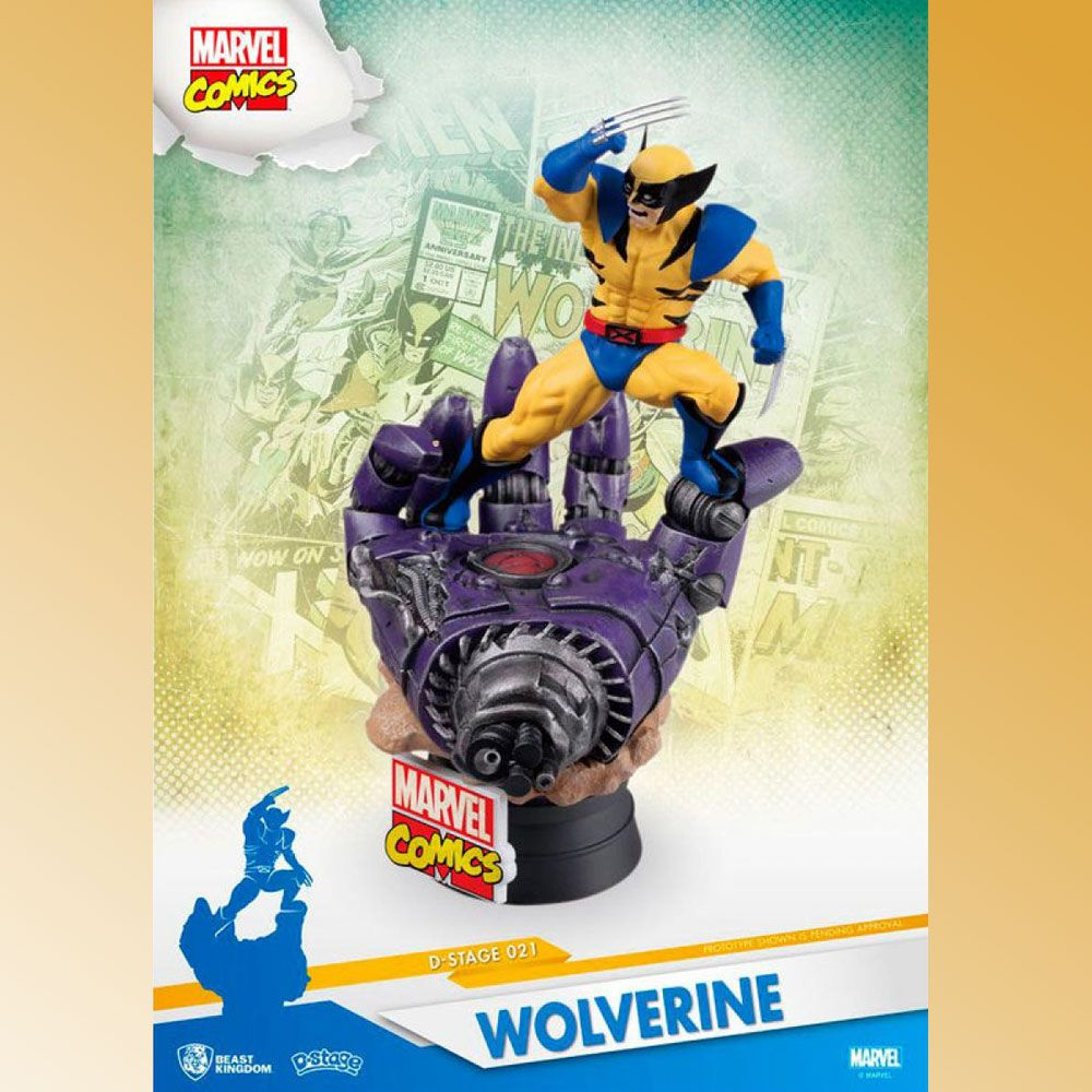 D-Stage 021 Wolverine Marvel Comics Diorama BEAST KINGDOM