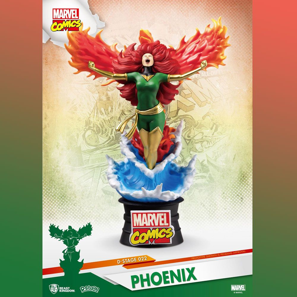 D-STAGE 022 PHOENIX X-MEN MARVEL COMICS BEAST KINGDOM