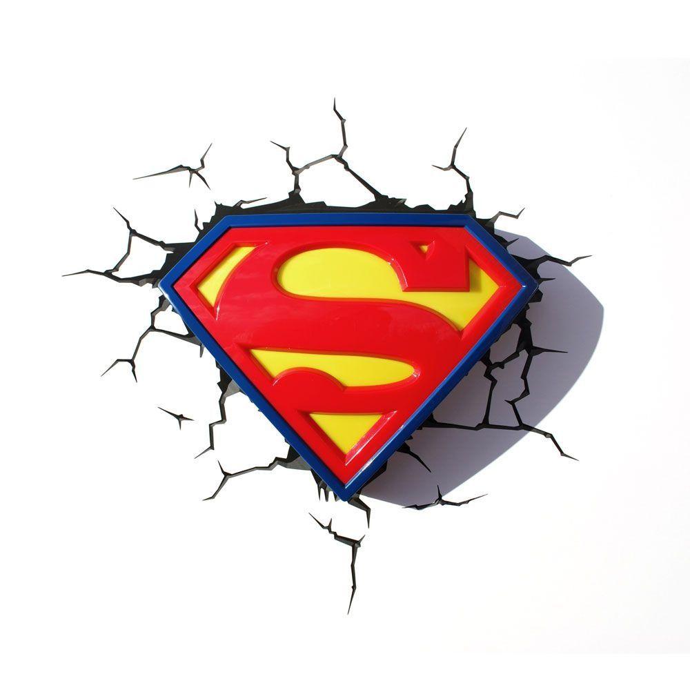 DC COMICS - Luminaria Logo Superman