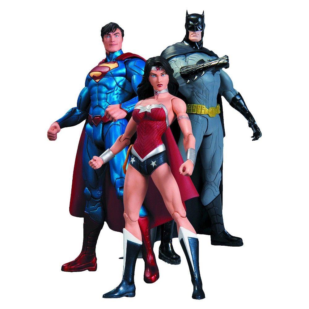 DC COMICS TRINITY WAR SUPERMAN, WONDER WOMAN, BATMAN