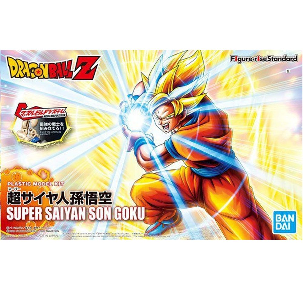 FIGURE RISE GOKU SSJ DRAGON BALL Z BANDAI Model Kit