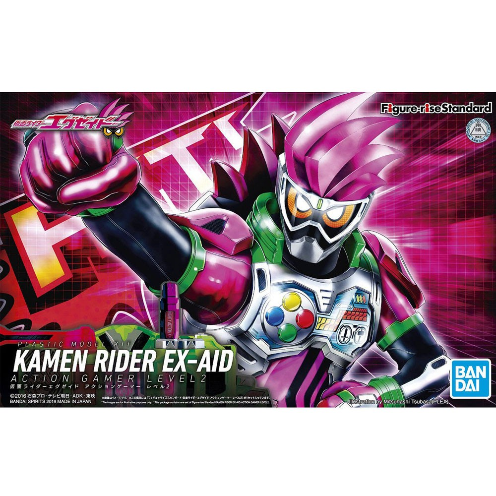 FIGURE RISE MASKED RIDER Ex-Aid Action Gamer Level 2