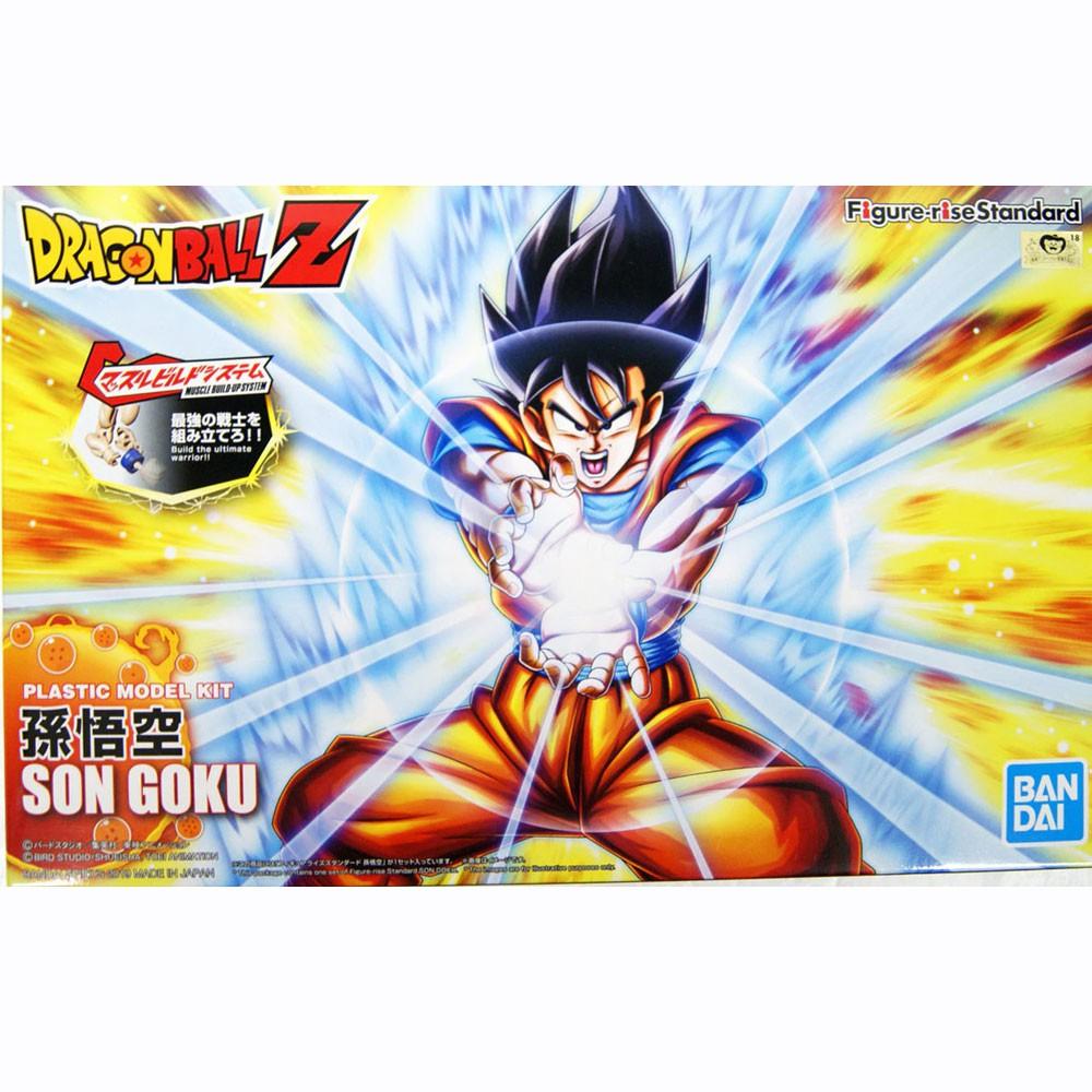 Figure-Rise Standard Son Goku Dragon Ball Model Kit Bandai