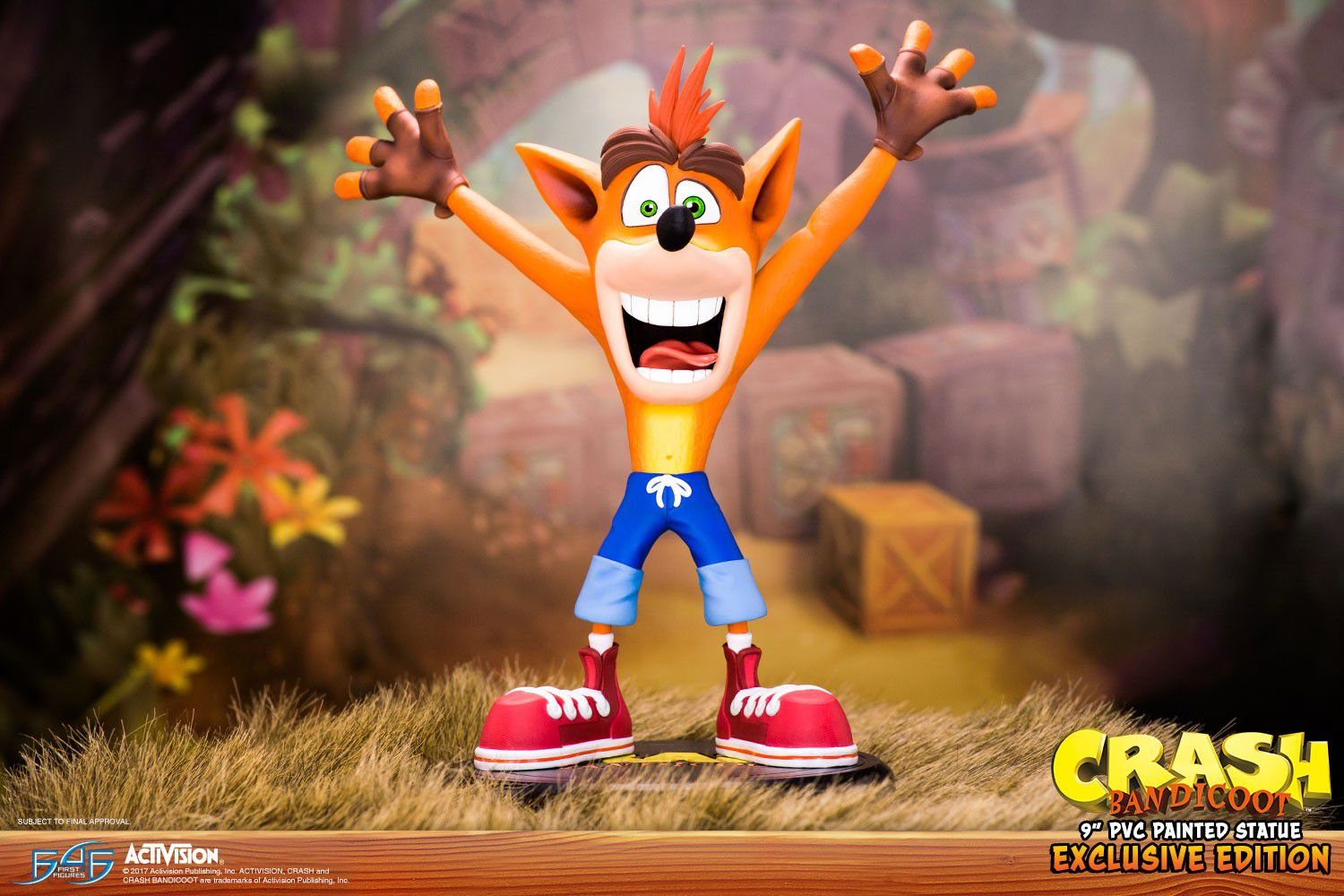 First4figures Crash Bandicoot PS4 FIGURE 9 Action Figure