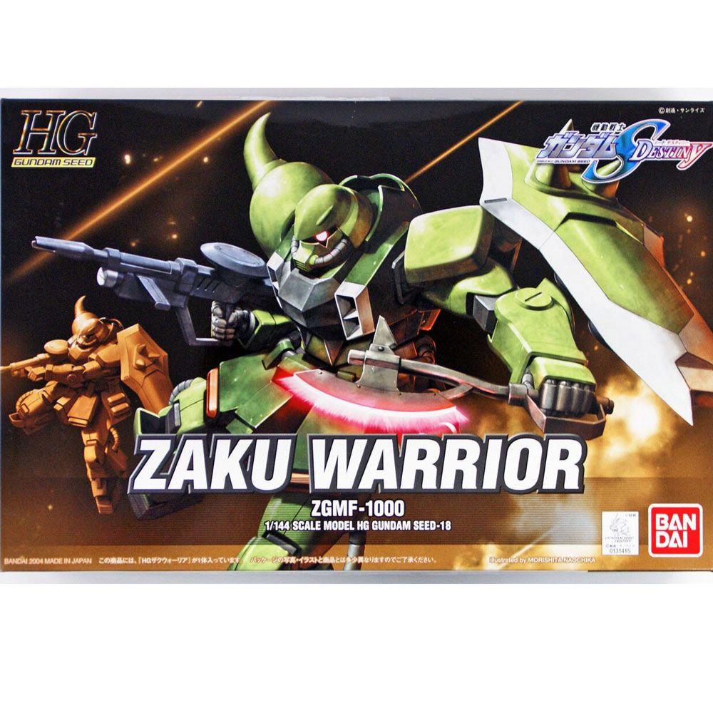 Gundam 1/144 HG Zaku Warrior ZGMF-100 Bandai Model Kit