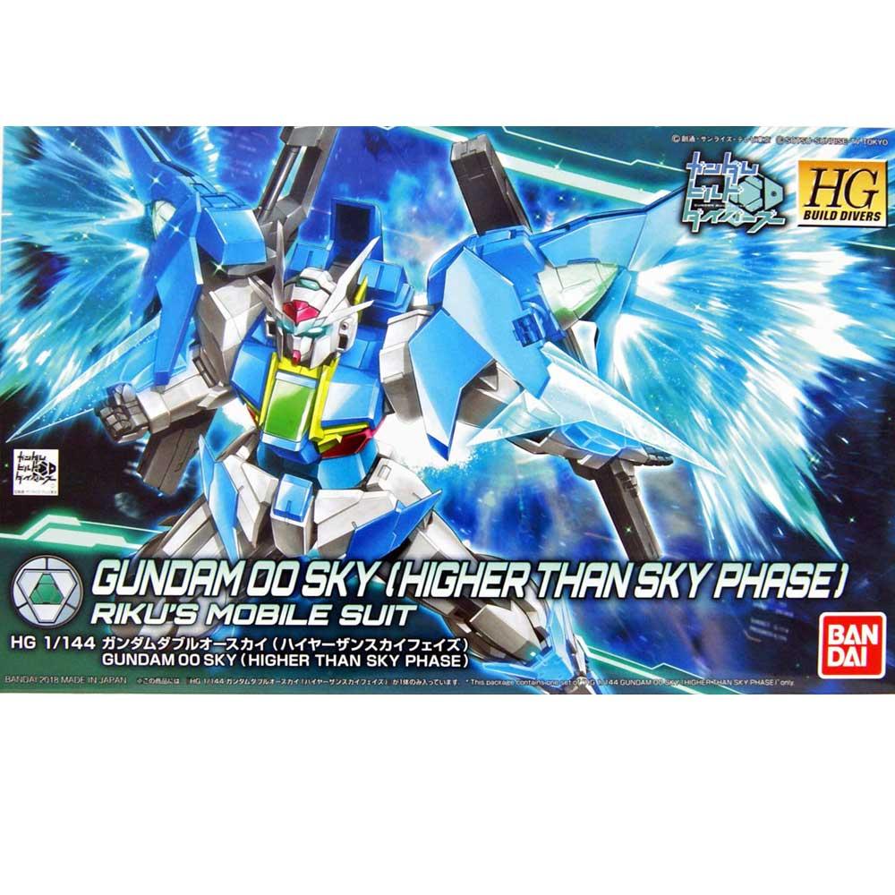 Gundam HG #014-SP 00 SKY HIGHER THAN SKY PHASE 1/144