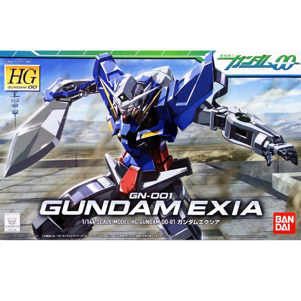 Gundam HG #01 Exia 1/144