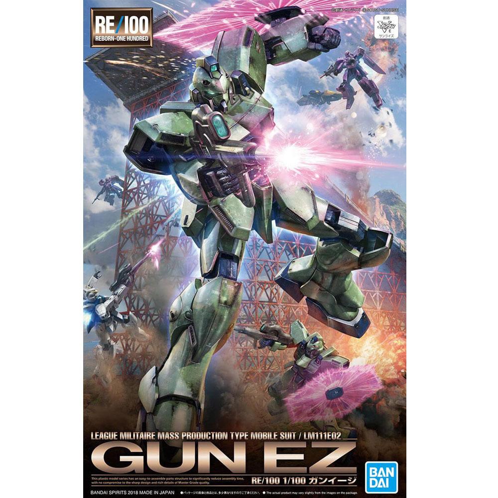 GUNDAM MG #011 VICTORY GUN-EZ, BANDAI RE/100 1/100
