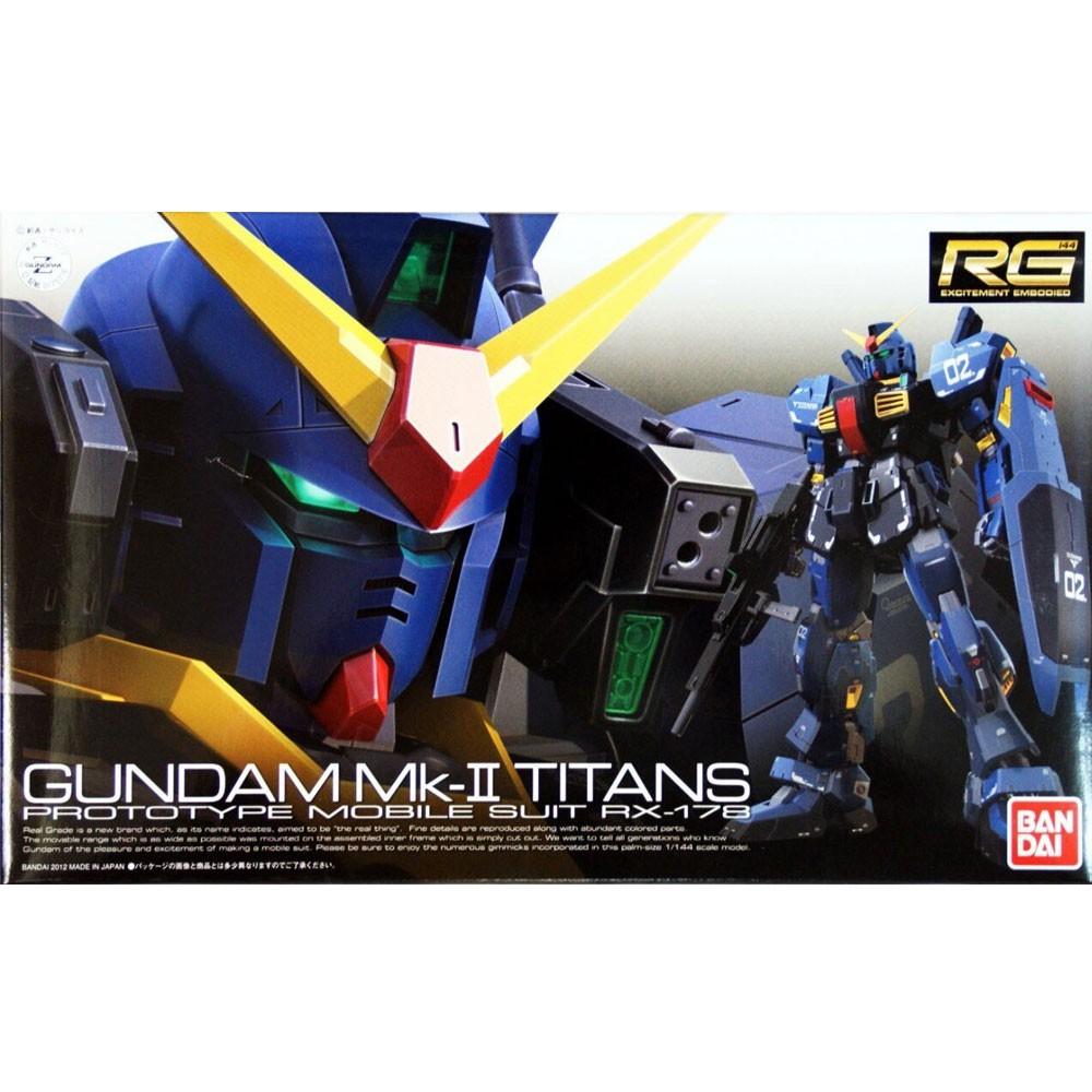 GUNDAM RG #07 MK-II TITANS RX-178 1/144 MODEL KIT
