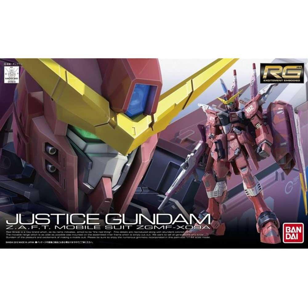 GUNDAM RG #09 JUSTICE 1/144