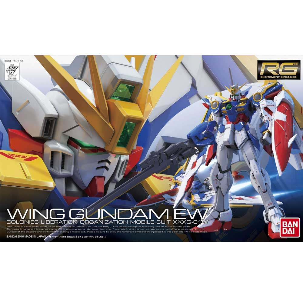 Gundam RG #20 Wing EW XXXG-01W 1/144