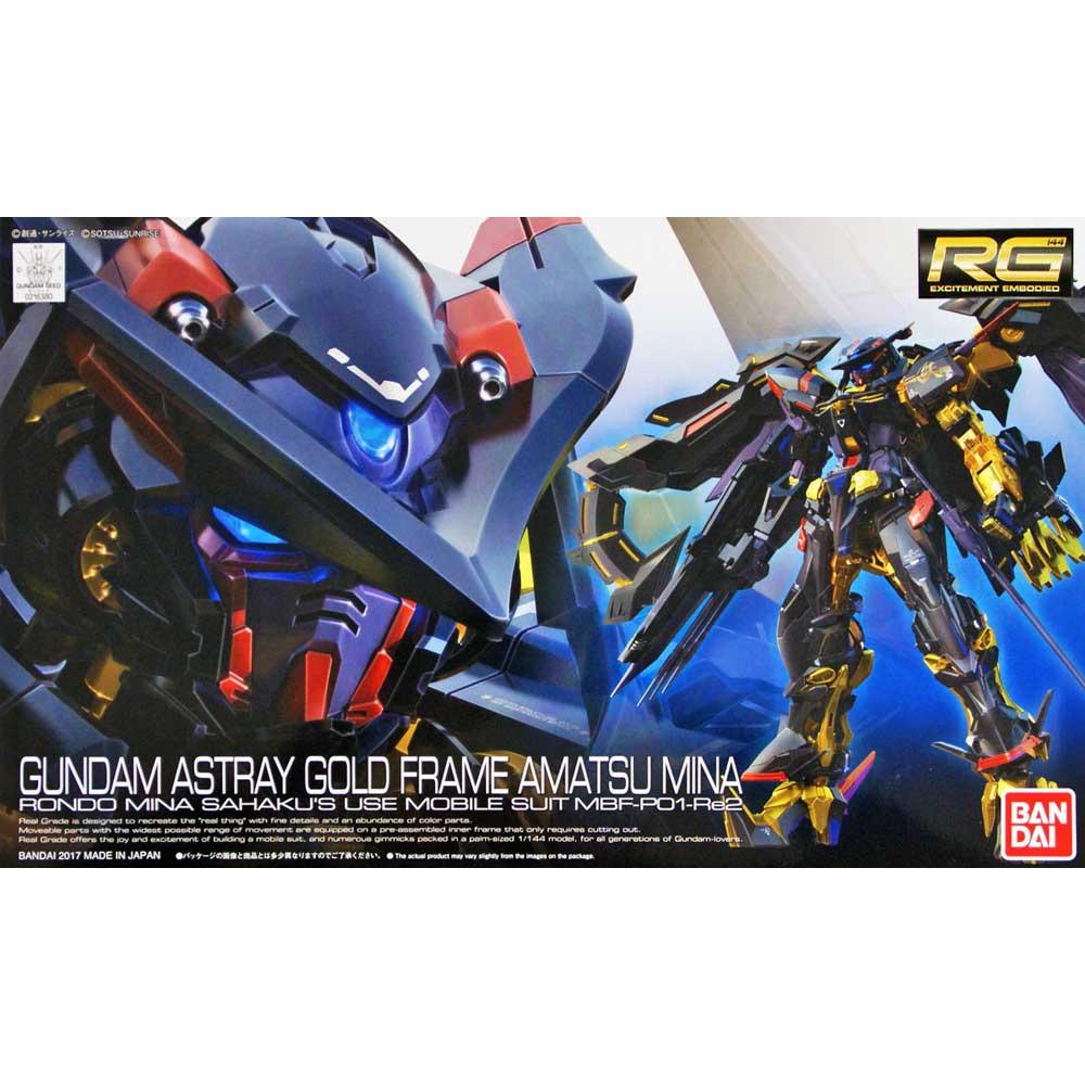 Gundam RG #27 ASTRAY GOLD FRAME AMATSU MINA  1/144