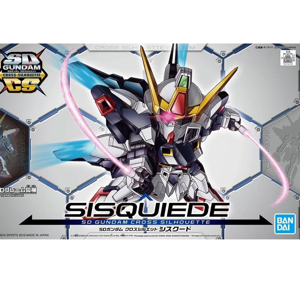 Gundam SD #09 CROSS SILHOUETTE SISQUIEDE Mono-Eye