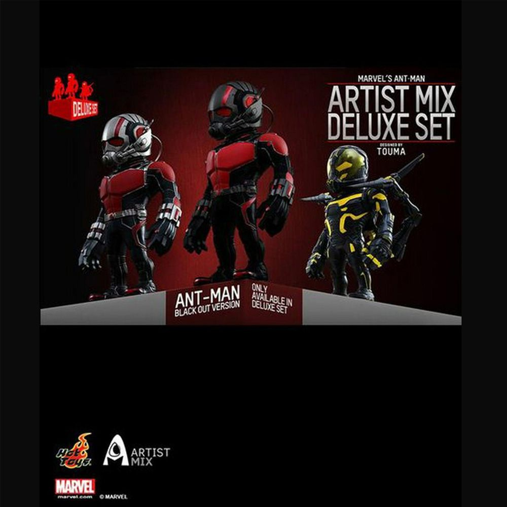 HOT TOYS DELUXE SET ANT MAN FORMIGA